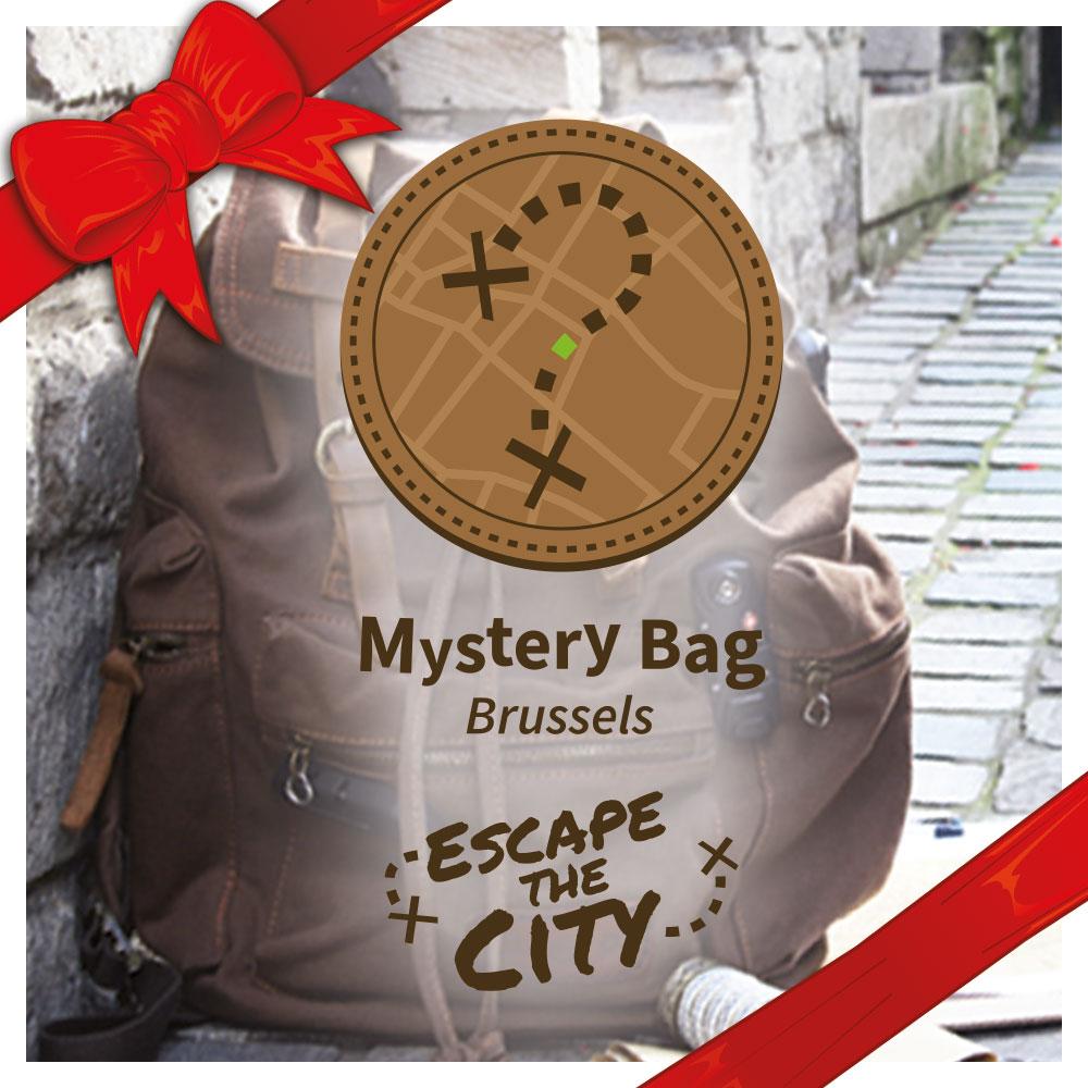 """Geef een voucher voor een spel """"Mystery Bag"""""""